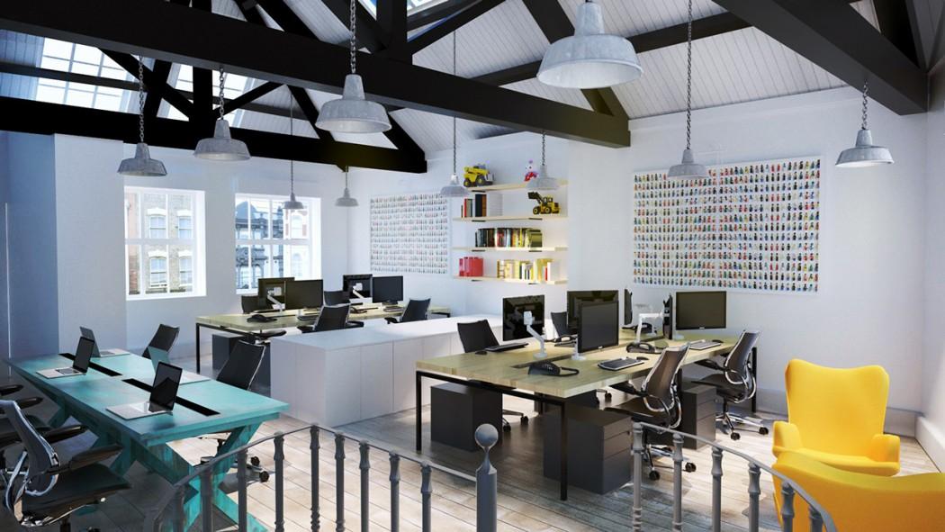 London interior office visualisations alberto battaglia for Interior design office london