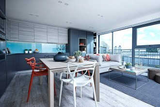 London Penthouse - Boscolo Interior Design