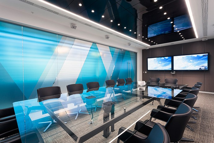 Aker Solutions' Meeting Room - By Peldon Rose