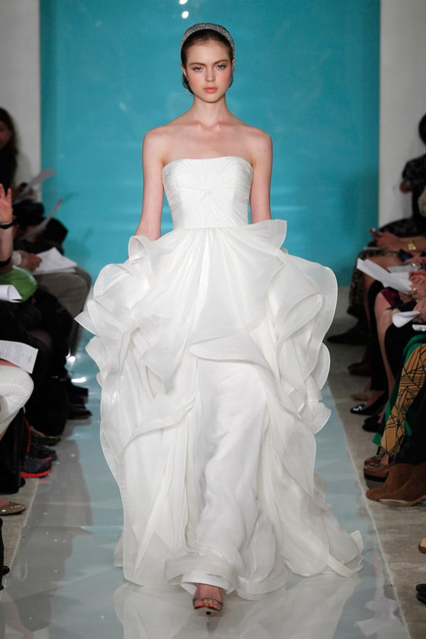 Wedding Gown - By New Reem Acra Lilac