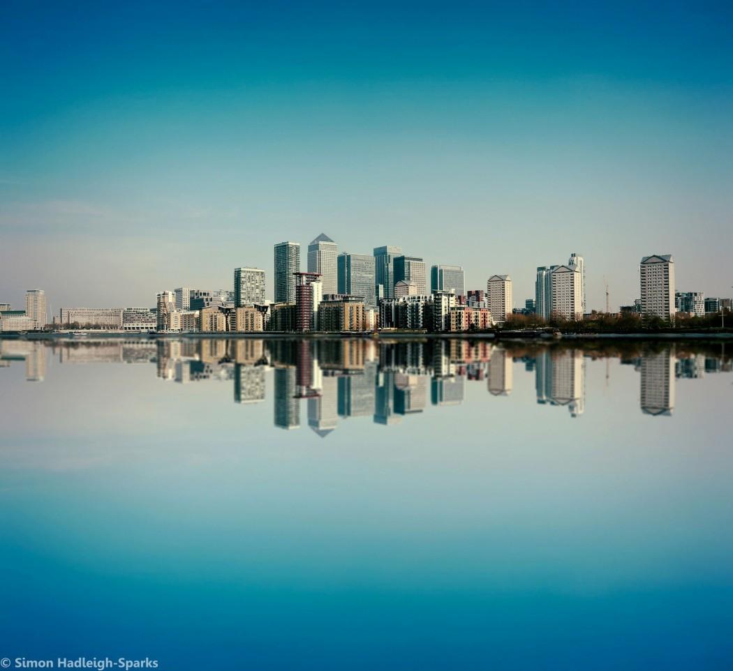 The London Rental Market - Canary Wharf Skyline by Simon Hadleigh-Sparks