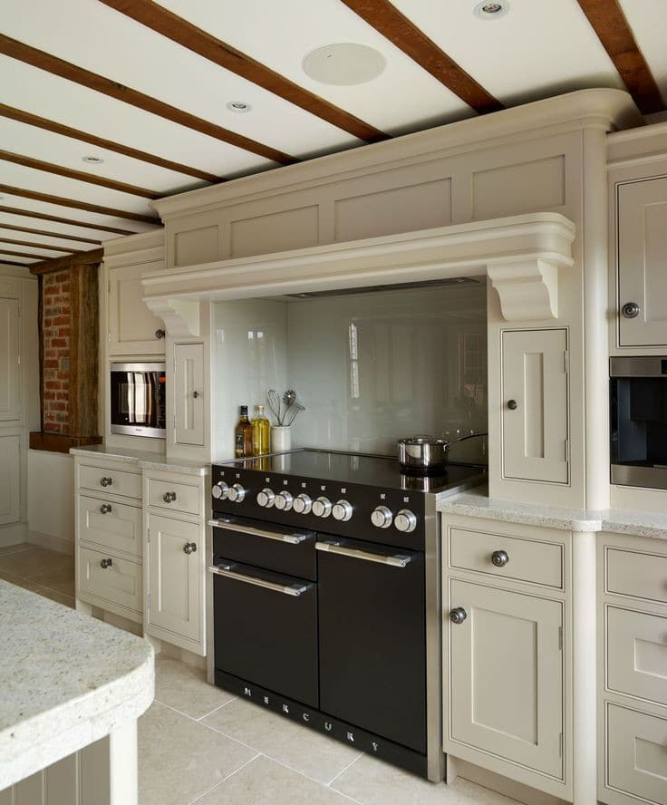 Designer Appliances For The Modern Home - Mercury Range Oven, Miele Microwave