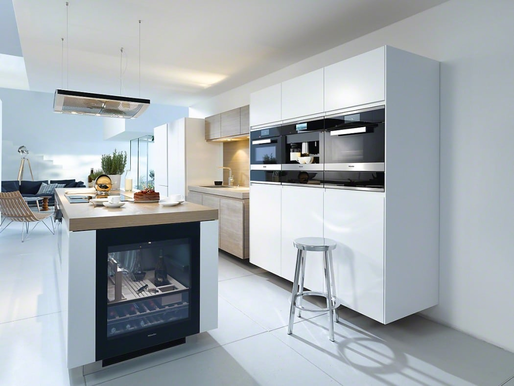 Designer Appliances For The Modern Home - Miele Built In Oven & Wine Cooler