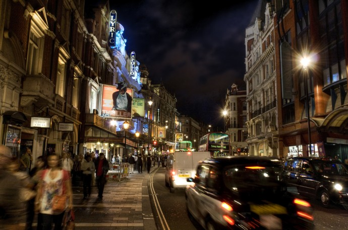Three Reasons Why You Should Move to London - The Thrill Of The West End London - By Andy Bird