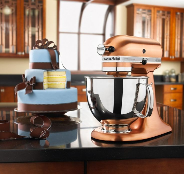 Designer Appliances For The Modern Home - KitchenAid Limited Edition Copper Mixer