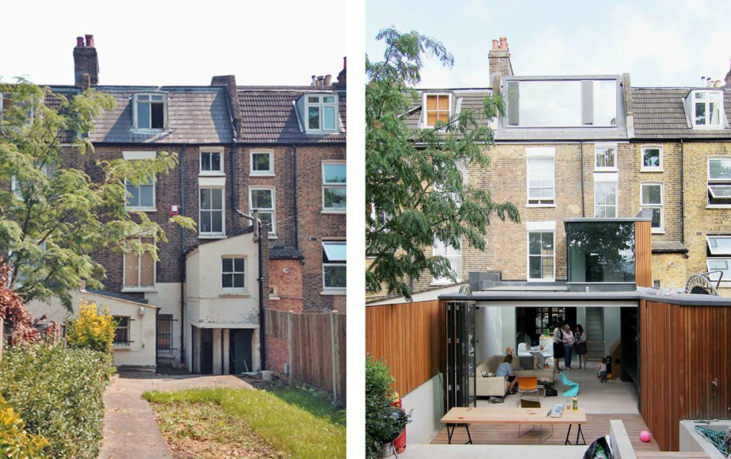 Before & After Picture Of  Loft & Double Level Extensions London - By  Studio 30 Architects