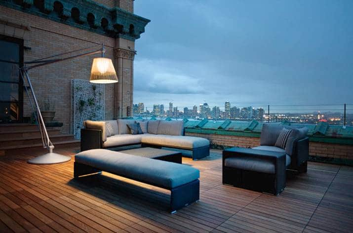 Designer Garden Furniture to Inspire a New Spring Look - Dedon Outdoor Furniture & Denon Lighting By Floss