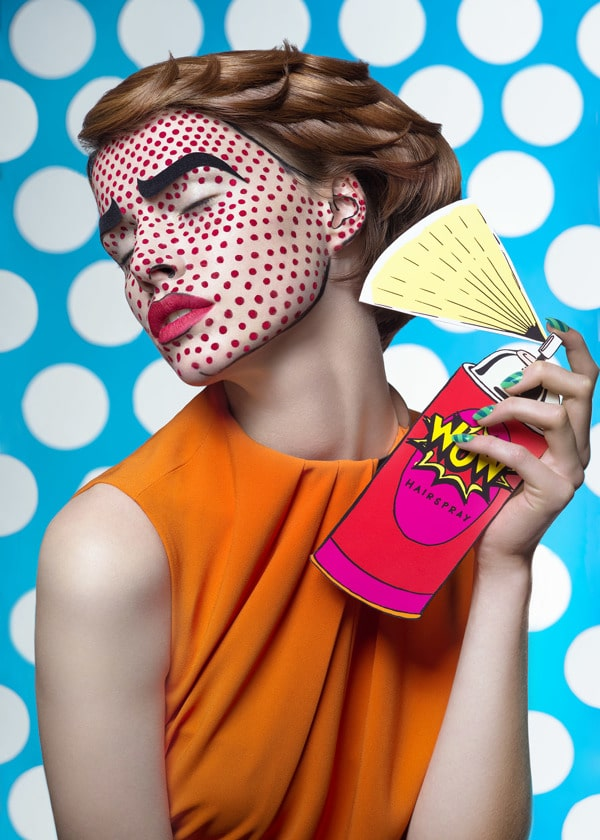 Pop Art Comic Book Look - Mdf Retouching