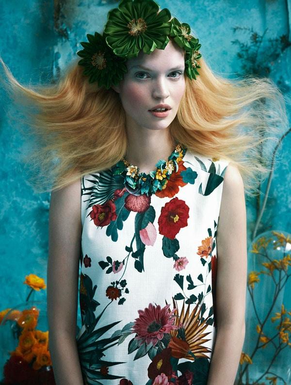 Tutte in fiore - Glamour Italia