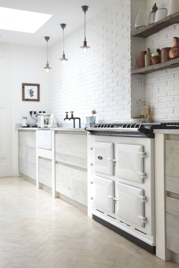 Designer Appliances For The Modern Home - White AGA cooker