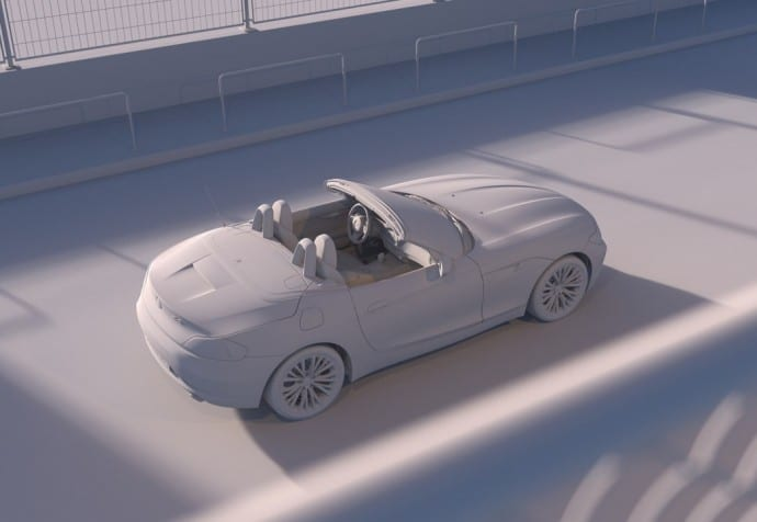 BMW Z4 - Full CGI & Retouching - By CircleMedia