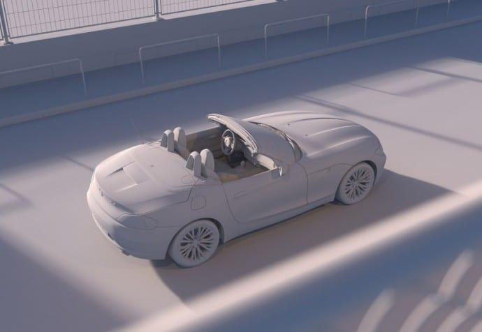 BMW Z4 - Full CGI & Retouching - By CircleMedia