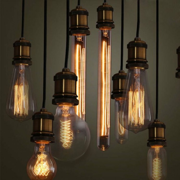 How To Enhance The Style Of Your Home - Vintage Light Bulbs