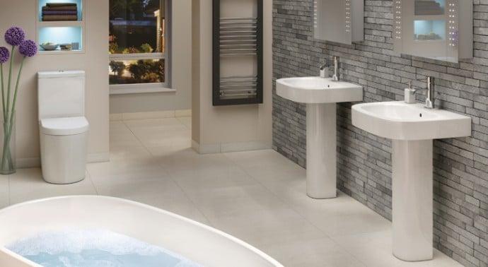 Modern Bathroom Trend for 2015 - Moods Kanuka Suite