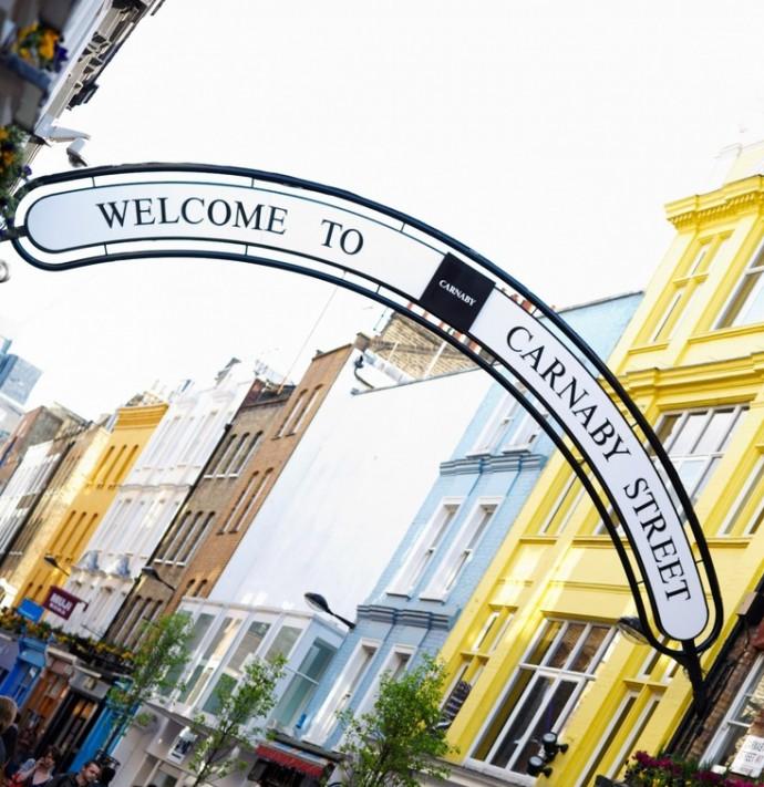 London: The Capital Of Menswear - London Carnaby Street