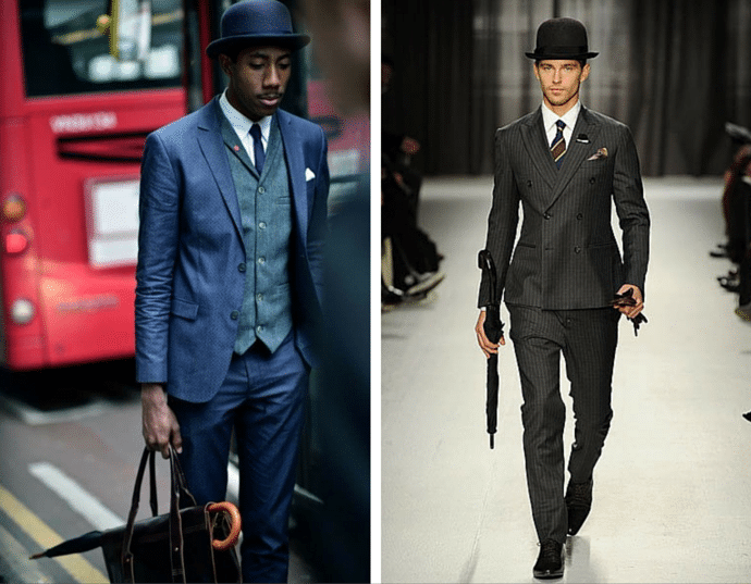 London: The Capital Of Menswear - Bowler Hat