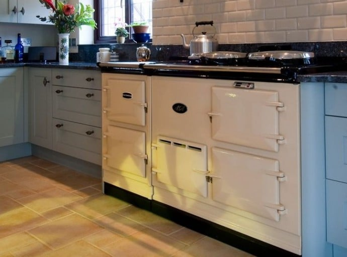 10 Interior Design Items Proud To Be 'Made In Britain' - White AGA Range Cooker