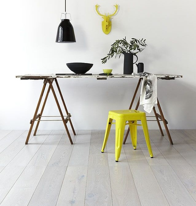 Hot Wood Flooring Trends - White Hard Wood Flooring