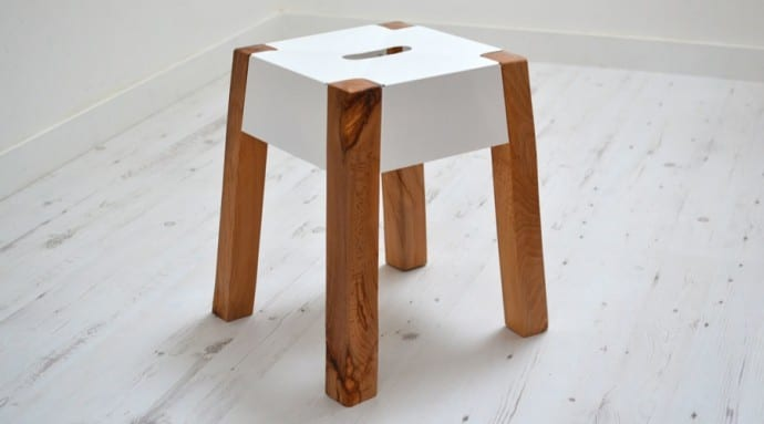 10 Interior Design Items Proud To Be 'Made In Britain' - Jam Furniture, Storm Felled Beech Stool.