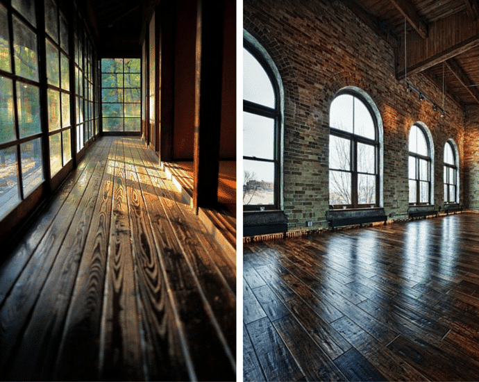 Hot Wood Flooring Trends - Short Vs Long Wood Floorboards.