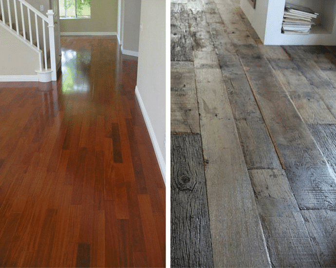Hot Wood Flooring Trends - Solid Wood Flooring Vs Engineered Wood Flooring