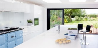 10 Interior Design Items Proud To Be 'Made In Britain' - Blue Aga Total Control Range Cooker