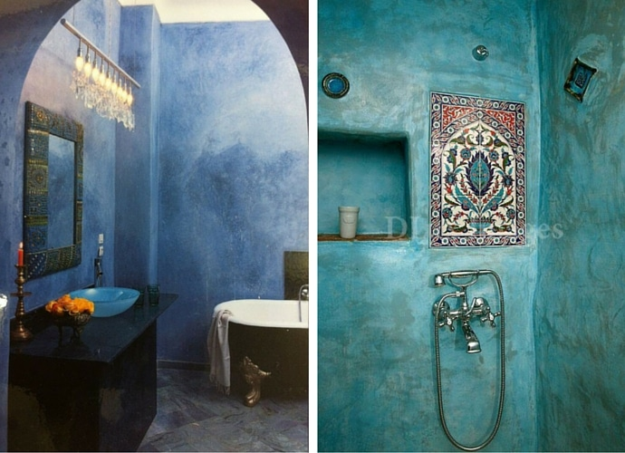 Luxury Trends For Your Bathroom - Moroccan Style
