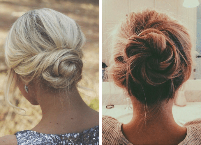 Back to work! 5 trendy bad hair day styling solutions - Buns