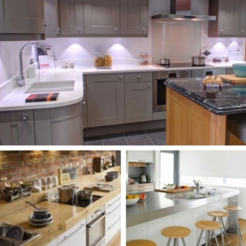 5 Most Desirable Kitchen Features - Worktops.