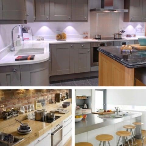 5 Most Desirable Kitchen Features - Worktops.