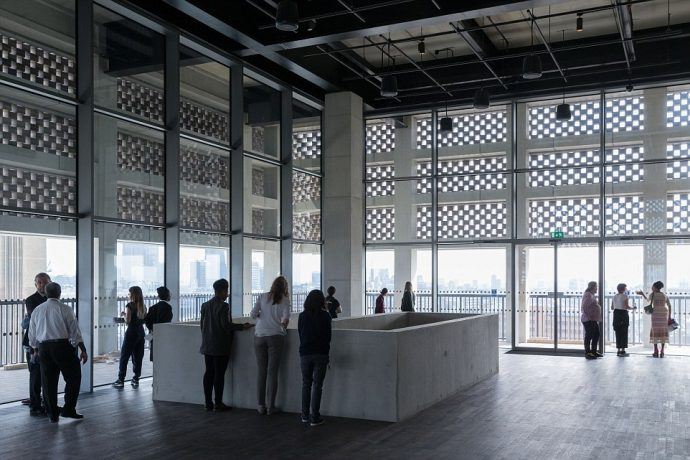 A Look At The New Tate Modern London - Switch House Panoramic Viewing Platform