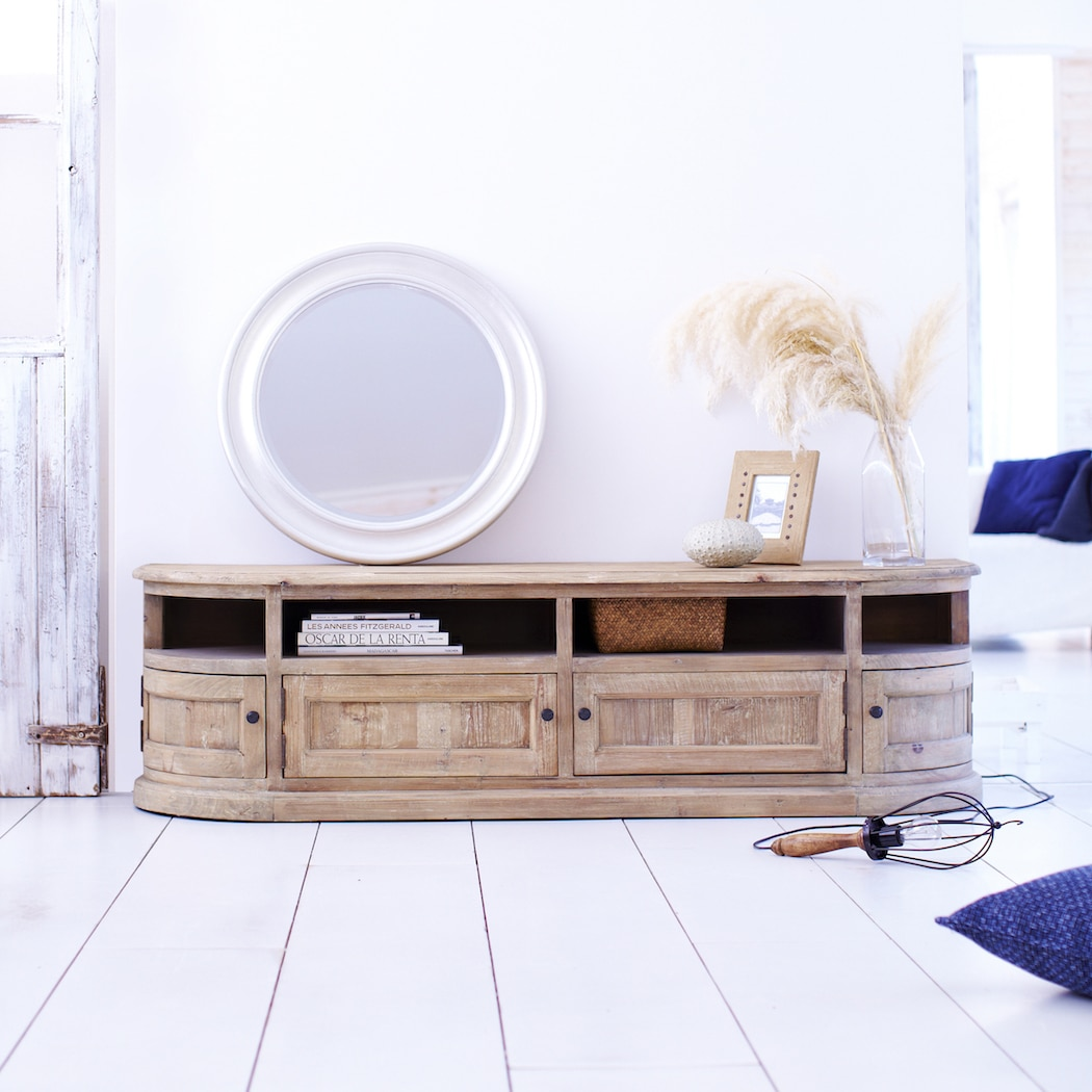The new neutral decorating with natural tones in 2016 for Meuble tv 2016