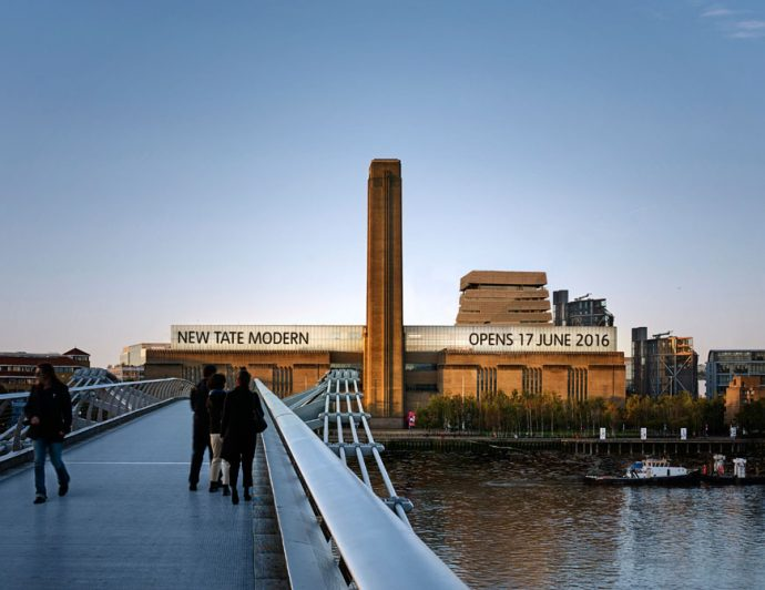 A Look At The New Tate Modern London -Image By Hayes Davidson For Herzog & de Meuron