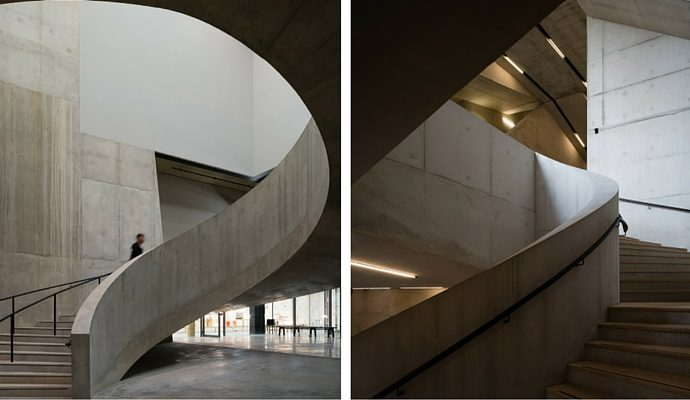 A Look At The New Tate Modern London - Staircase