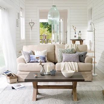 Calm and tranquil coastal trend