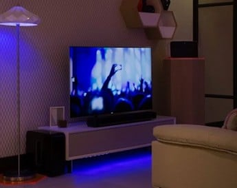 Smart Home Living Room Technology