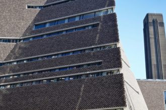Tate Modern Switch House Timelapse