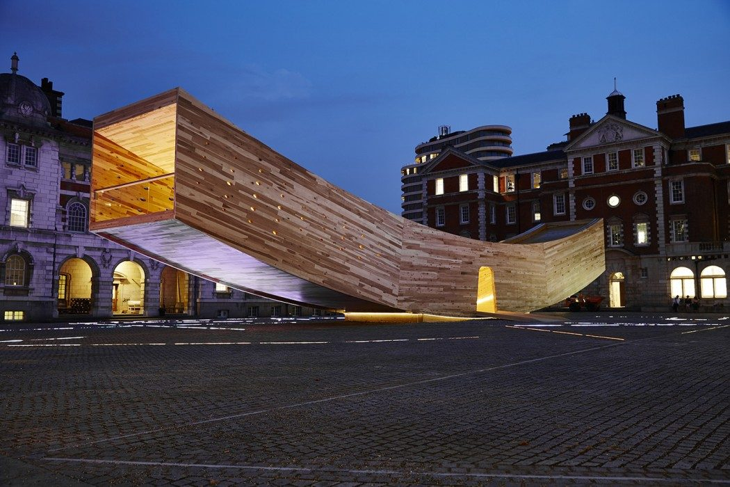 "London Design Festival Highlights - ""The Smile"" at the Chelsea College of Art Rootstein Hopkins Parade Ground"