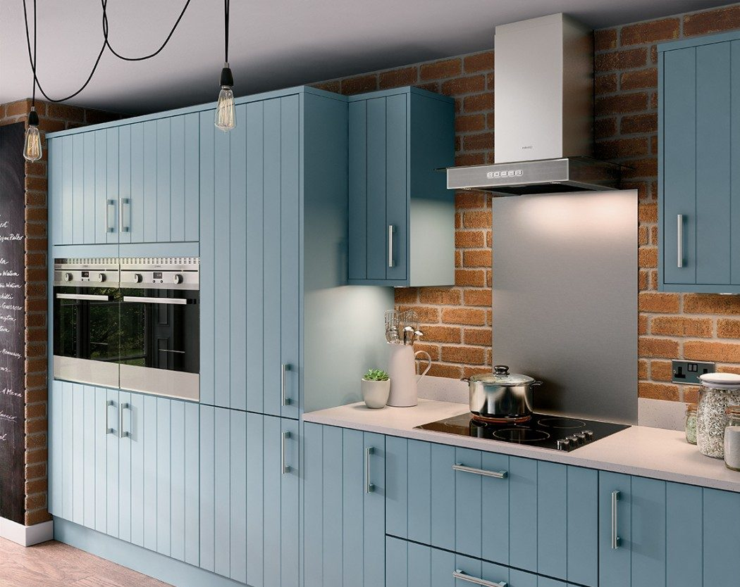 How to give your kitchen a modern country feel london for Home base kitchen units