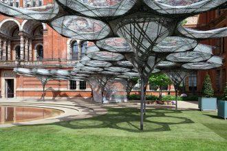 Elytra Filament Pavilion - Victoria & Albert Museum London