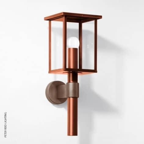 Copper outdoor lights