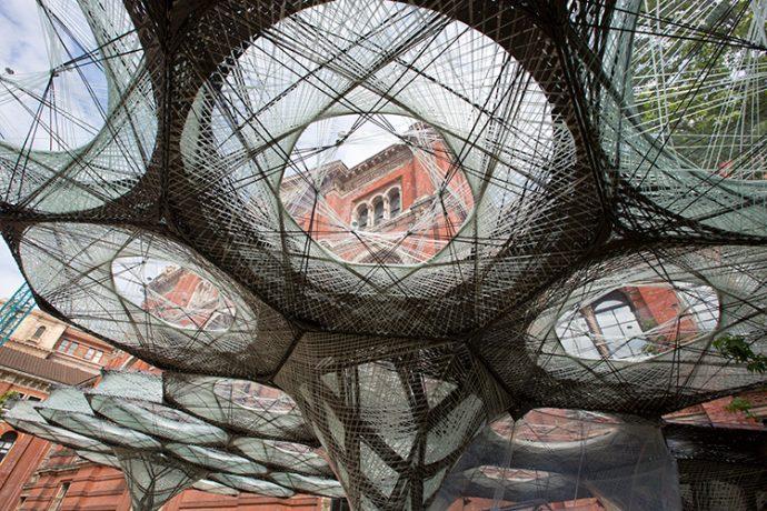 Elytra Filament Pavilion - Image By Victoria & Albert Museum London