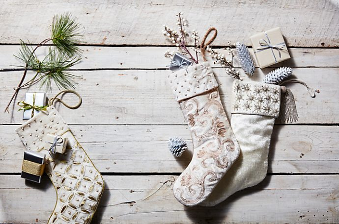 Luxe Christmas Stocking