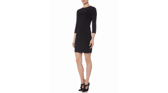 Little black dress from Armani