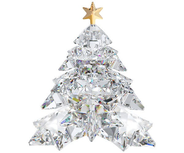 Swarovski christmas tree