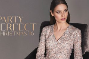 Tis the season to sparkle:  Beautifully designed party wear for Christmas 2016