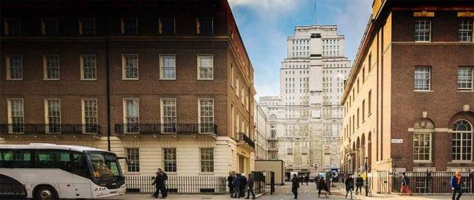 Intelligent choices: 5 academic venues in London for your next corporate event - Senate House, University of London