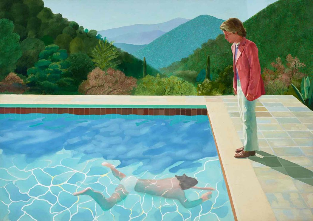 David Hockney London Tate Britain - Going Up Garrowby Hill, 2000. Photograph: © David Hockney/Tate