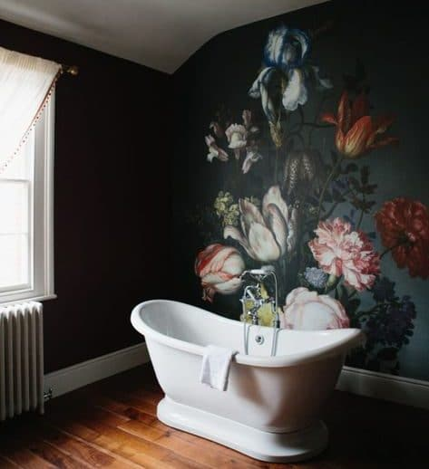 9 ways to spruce up your bathroom - Bathroom Mural