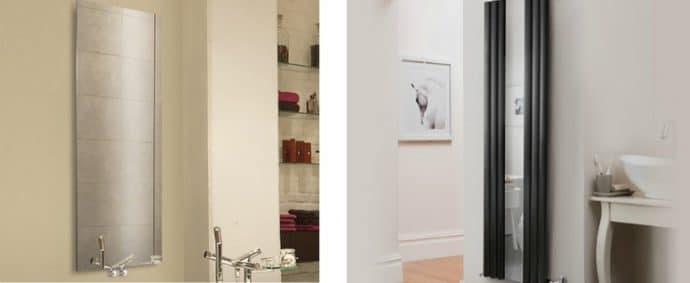 9 ways to spruce up your bathroom - Designer Mirrored Radiators From DeaignerRadiatorShowroom.co.uk